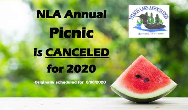 Annual Picnic Canceled